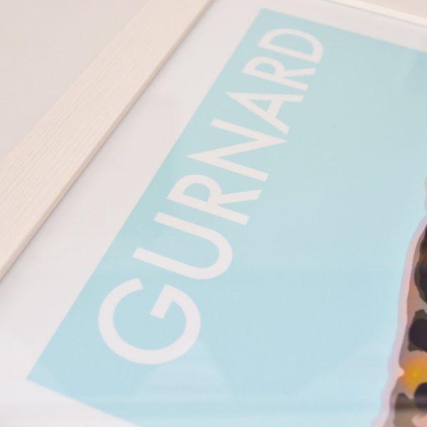 Gurnard Huts Print