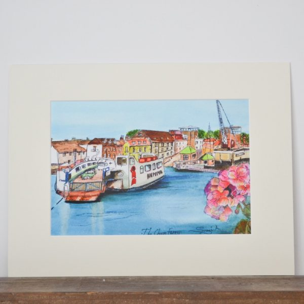 Chain Ferry Print