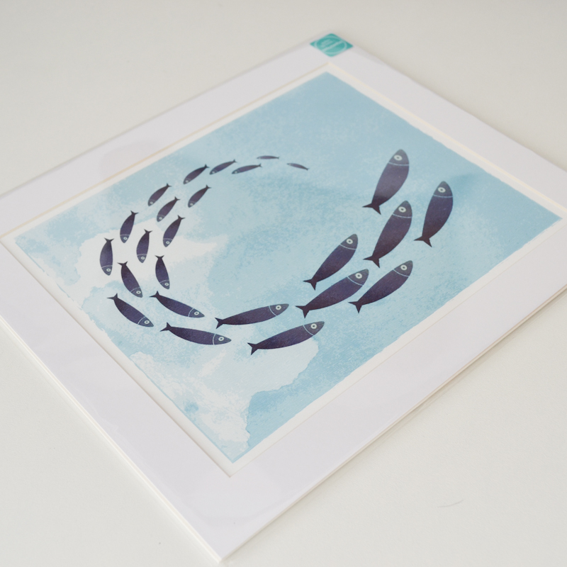 Fish Shoal Print