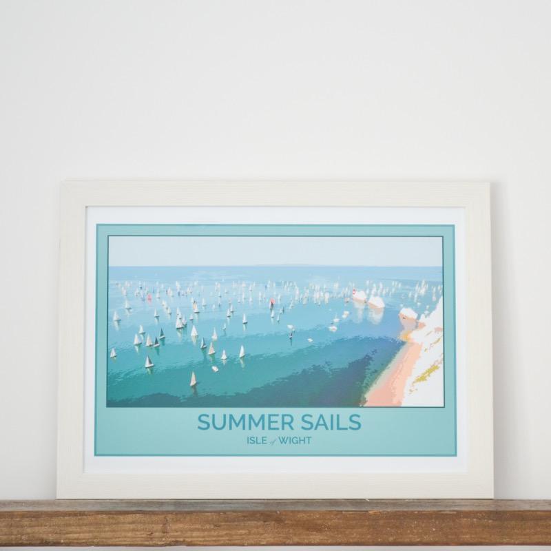 Summer Sails Print