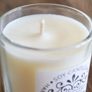 Small Rhubarb & Strawberry Candle