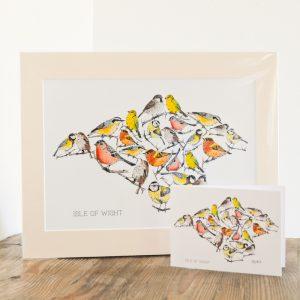 Bird Print & Card