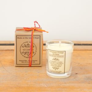 Sml Cinammon, Clove & Orange Candle