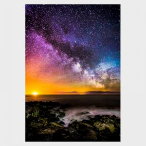Colours of The Milky Way Print