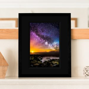 Colours of The Milky Way Signed Print