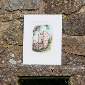 Carisbrooke Castle Print